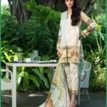 Shehla Chatoor Luxury Lawn Collection Summer 16 12