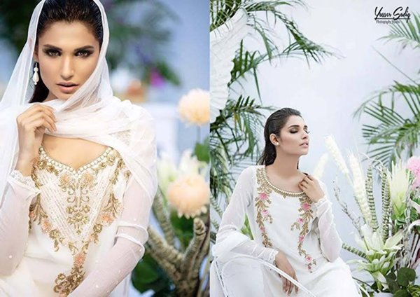 Zaheer Abbas Eid Fancy Dresses Summer 2016