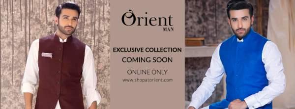 Men Eid Waistcoat Kurta Shalwar By Orient Textiles 2016 3