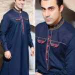 Rivaj Fabrics Men Semi Stitched Eid Collection 2016 5