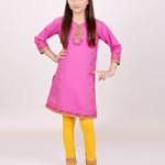 Edenrobe Kids Kurti Autumn Season Dresses 2016 2