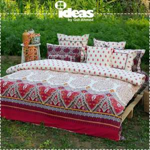 Gul Ahmed Ideas Bed Sheet Designs