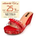Metro Shoes Eid Footwear For Women 2016 5