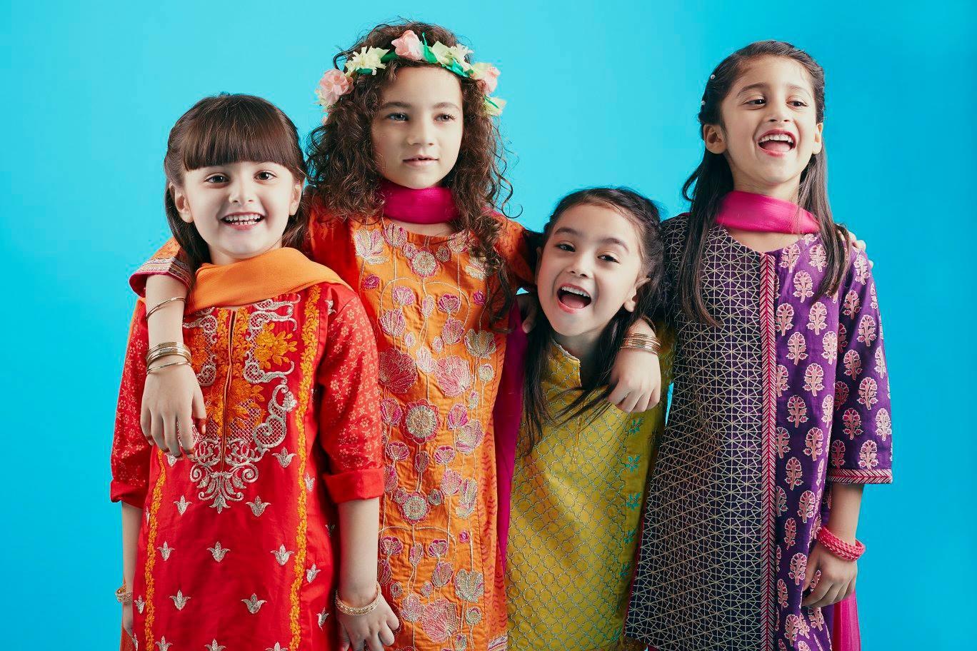 Pepperland Kids Festive Season Dresses