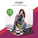 Adam Jee Casual Printed Lawn Shalwar Kameez Collection 2017 5