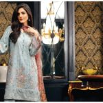 Baroque Festive Season Lawn Embroidered Collection 2017 8