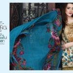 Floss Embroidered Luxury Lawn Shalwar Kameez Vol-2 2017 2