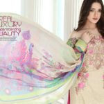 Floss Embroidered Luxury Lawn Shalwar Kameez Vol-2 2017 4