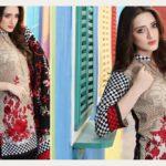 Floss Embroidered Luxury Lawn Shalwar Kameez Vol-2 2017 5