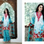 Mahnoor Embroidered Eid Casual Lawn AlZohaib 2017 6