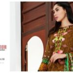 Mahnoor Embroidered Eid Casual Lawn AlZohaib 2017 7