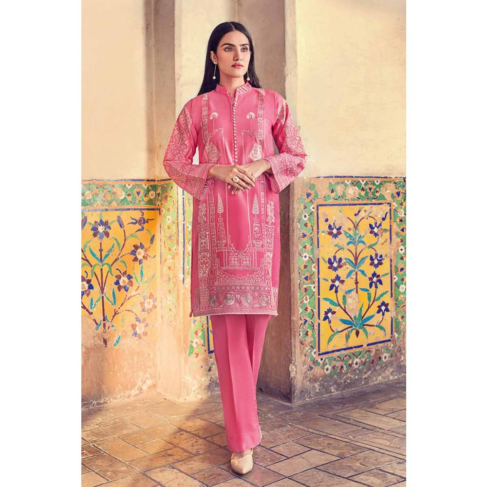 Gul Ahmed Unstitched Spring Summer Lawn 2019
