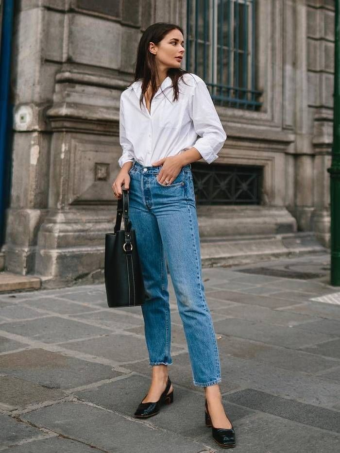 White shirt color saves the day! 3 best ideas