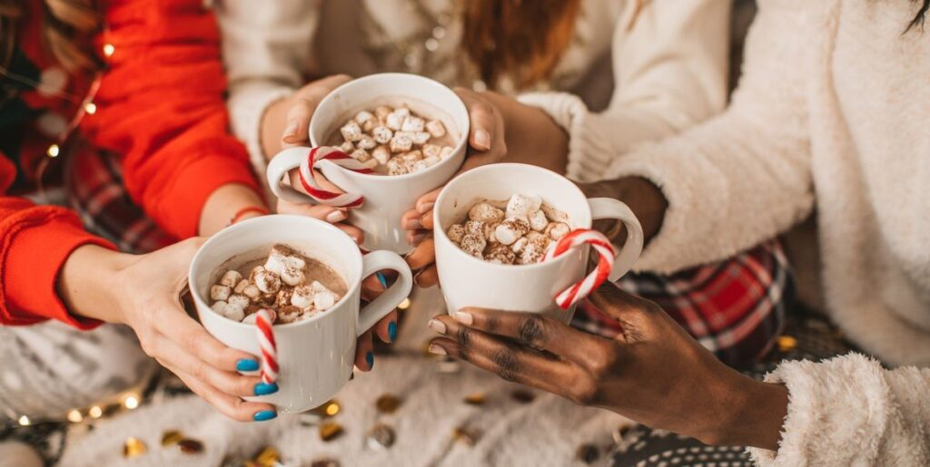 Hot chocolate recipes for every season