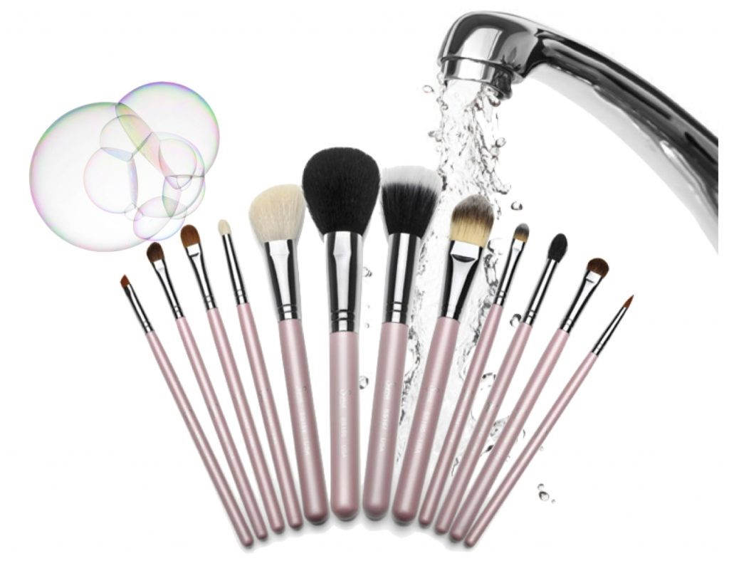 The right way to clean your makeup brushes