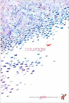 Special K - Courage Wild Posting