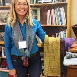 Joan Pont - Echo & Iris scarves