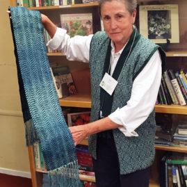Sue Hayes - Multicolored scarf
