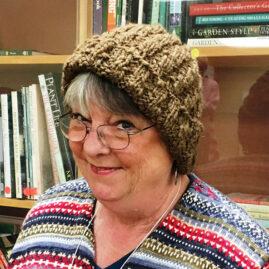 Susan's Manx Loughan Handspun knit hat