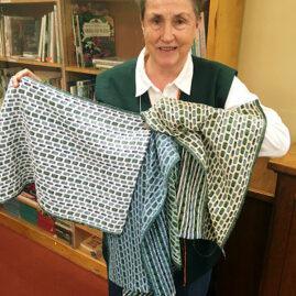 Sue's woven dishtowels