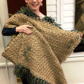 Jacquelyn's jute crochet rug
