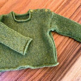 Shari Ranney baby sweater