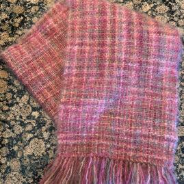 W - Trudie Folsom's Mohair scarf