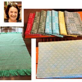 Karen May's Baby Blanket, Towels & Table Runner