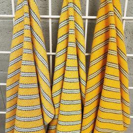 Mary Ann Parker's Yellow color challenge dishtowels