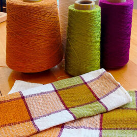 Terry Leech's Orange Color Challenge Napkins