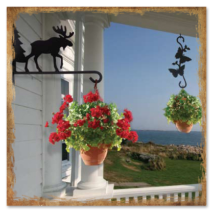 Wrought Iron Plant Hangers from Timeless Wrought Iron