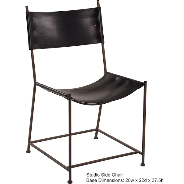 2 Iron Side Chair