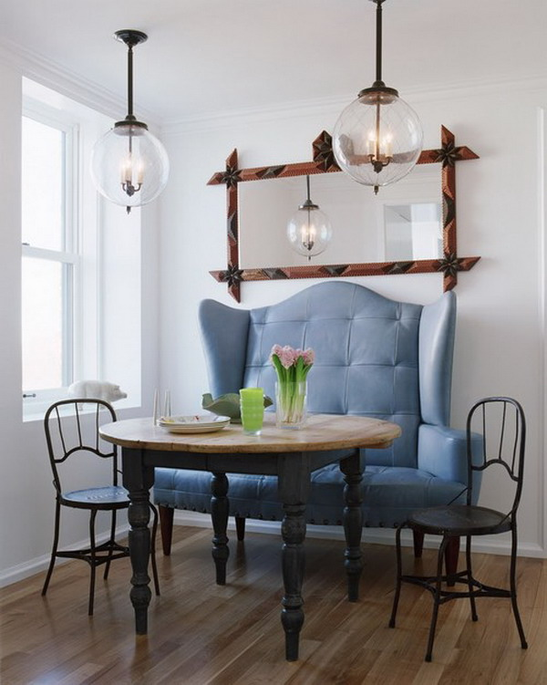 Banquette and Side Chairs