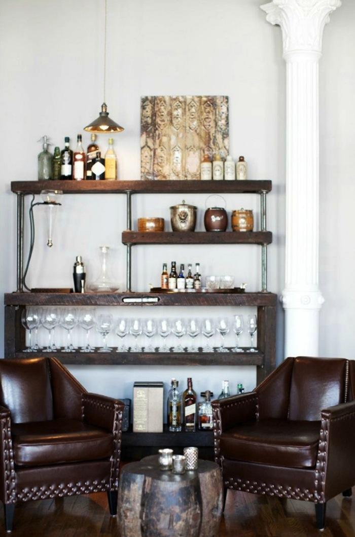 Bachelor's Pad Bar Ideas