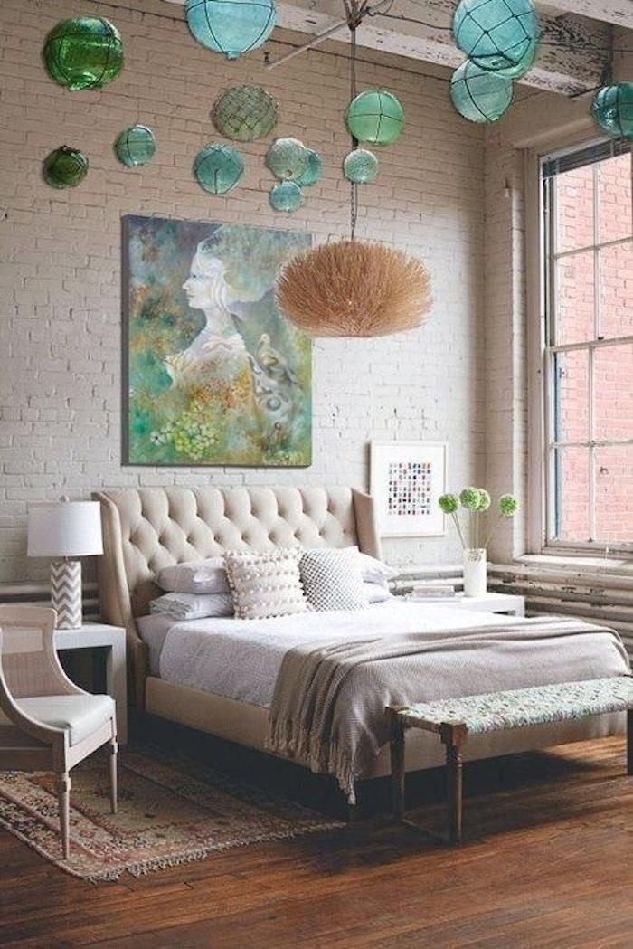 Brick in Bedroom