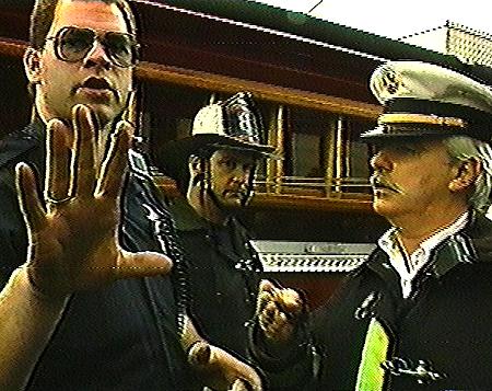 Cop & Firemen @ Mark Pauline