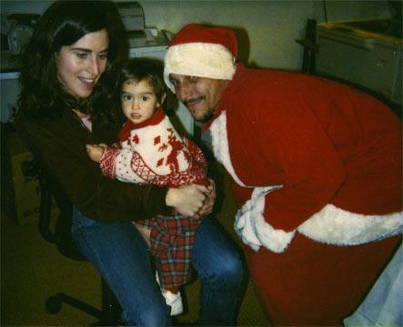 Maureen, Mala & Santa '89