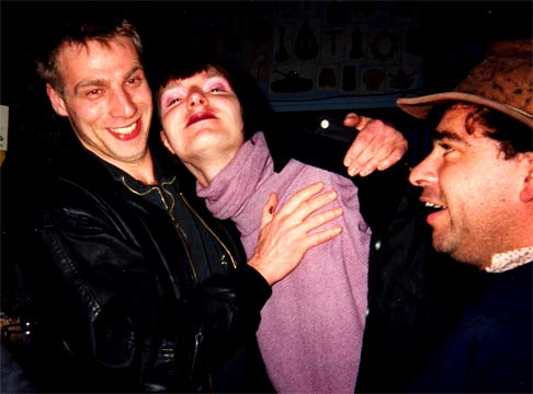 Stefan, Rodney, Gonzalo