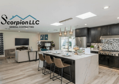 Kitchen remodeling by Scorpion Contracting in Phoenix, Scottsdale, and Paradise Valley