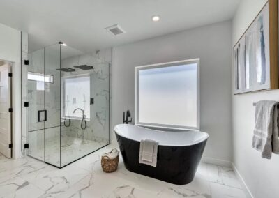 Scottsdale bathroom remodeling done by Phoenix bathroom remodelers Scorpion Contracting.