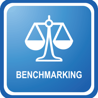 benchmarking icon