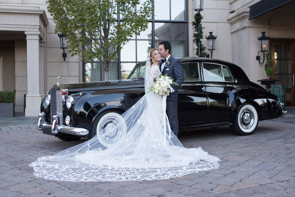 wedding limousine in Atlanta, GA