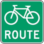 bicycle-route-designated