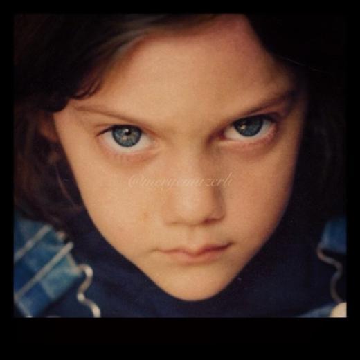 Meryem Uzerli Çocukluk Fotoğrafı