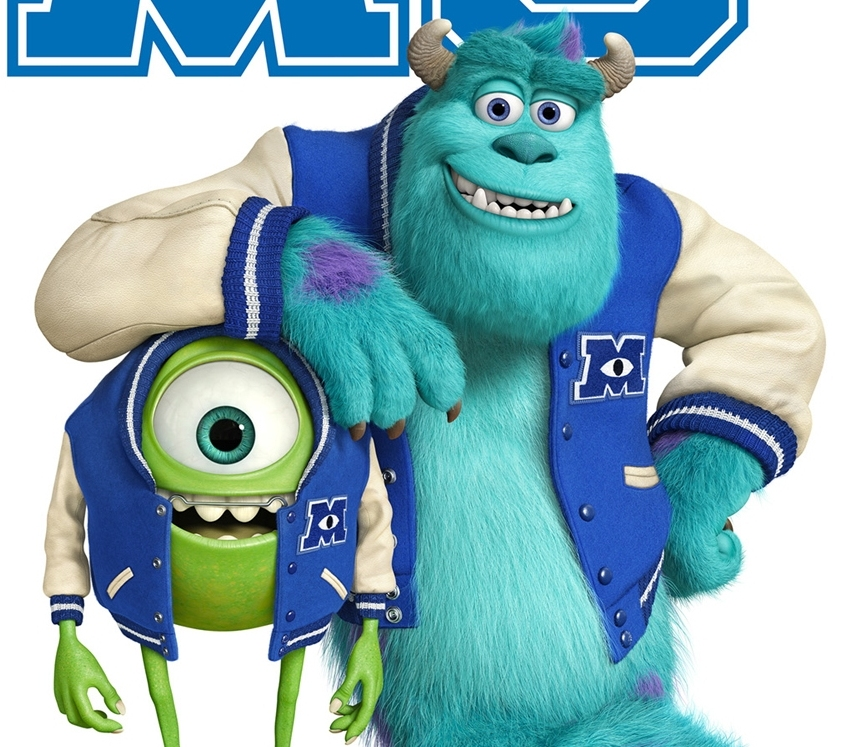 Monsters University gösterimde