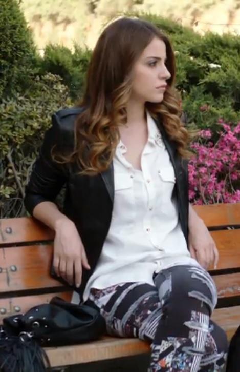 20. Bölüm Cemre Kıyafetleri H&M Pantolon ve Çantası
