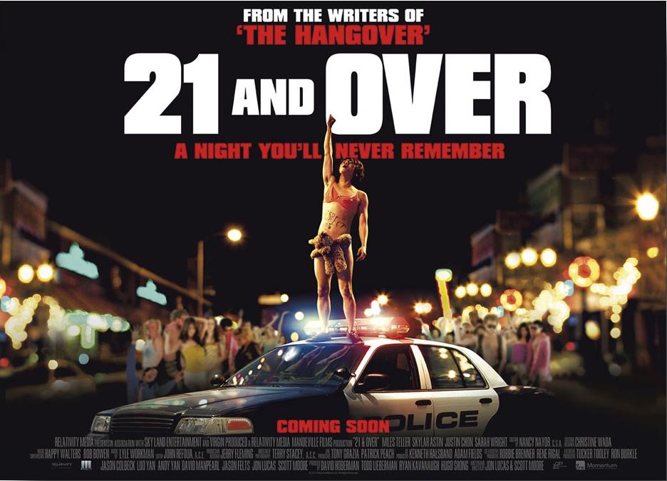 21 and Over / Çılgın Doğumgünü 17 Mayıs'ta gösterime giriyor