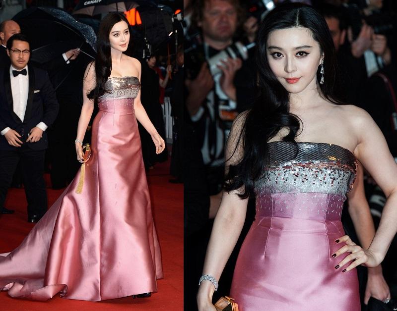 Fan Bingbing Cannes Film Festival Elbisesi