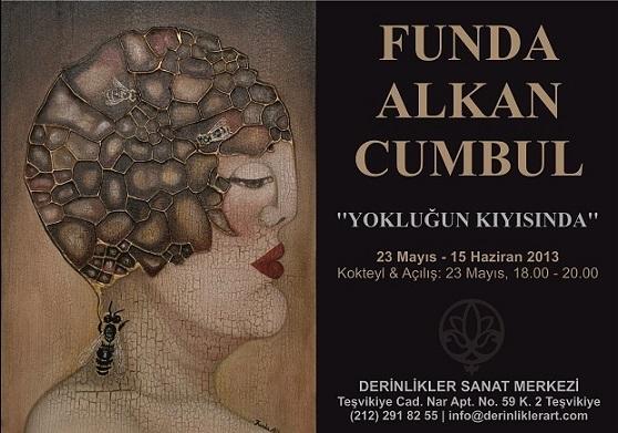 Funda Alkan Cumbul sergisi 23 Mayıs – 15 Haziran'da Derinlikler Sanat Merkezi'nde