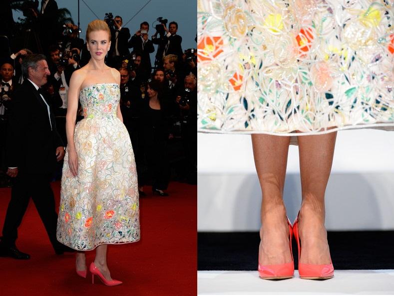 Nicole Kidman Cannes Film Festivali Elbisesi